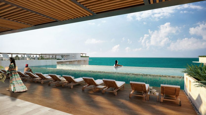 emma elissa playa del carmen 2 bedroom penthouse 14 835x467 - Emma & Elissa 2 Bedroom Penthouse