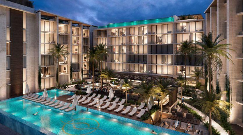 emma elissa playa del carmen 2 bedroom penthouse 3 835x467 - Emma & Elissa 2 Bedroom Penthouse