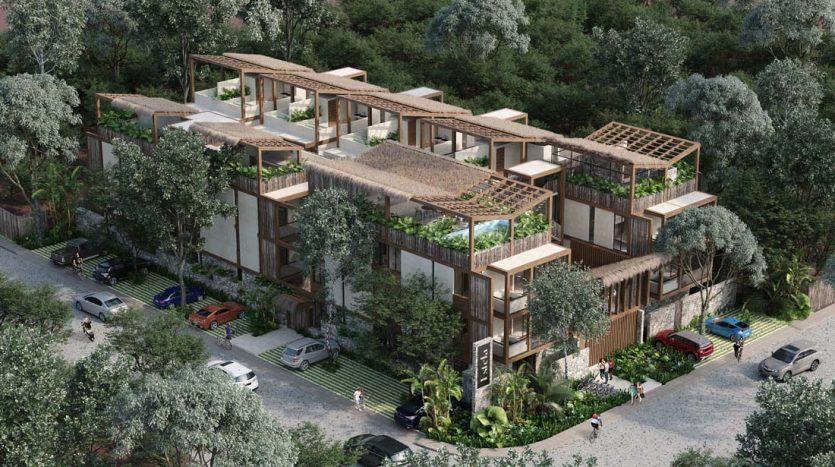 estela tulum 2 bedroom penthouse 1 835x467 - Estela 2 Bedroom Penthouse