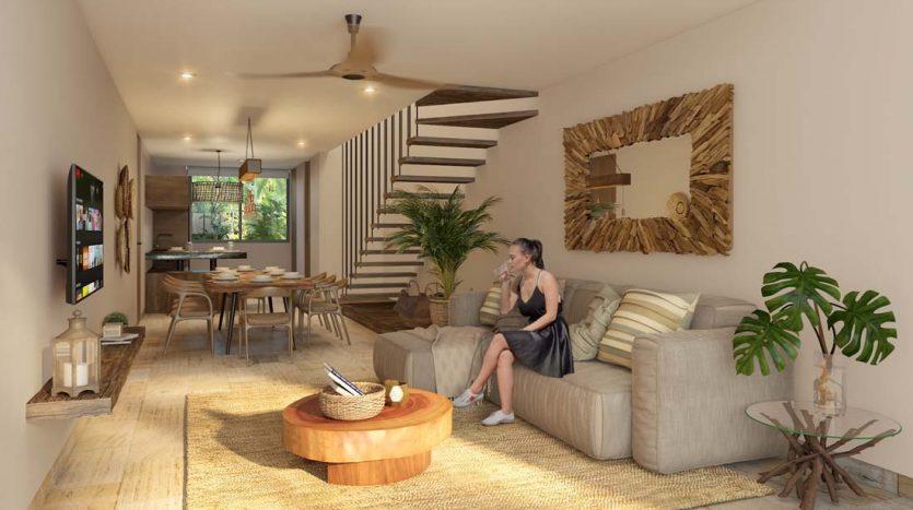 estela tulum 2 bedroom penthouse 13 835x467 - Estela 2 Bedroom Penthouse