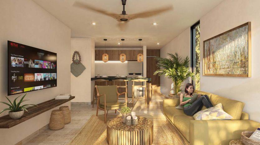 estela tulum 2 bedroom penthouse 9 835x467 - Estela 2 Bedroom Penthouse
