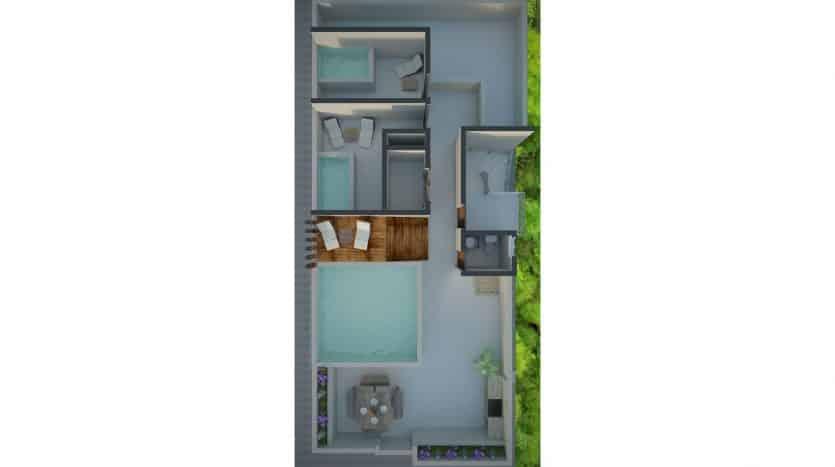 Joshua 2 Bedroom Penthouse