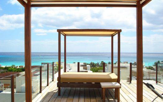 la brisa 2 bedroom condo playa del carmen 1 525x328 - La Brisa 2 Bedroom Condo