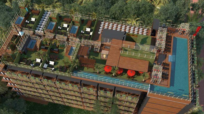 la residencia 1 bedroom condo playa del carmen 10 835x467 - La Residencia 1 Bedroom Condo