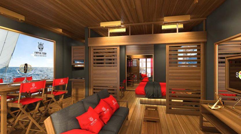 la residencia 1 bedroom condo playa del carmen 13 835x467 - La Residencia 1 Bedroom Condo