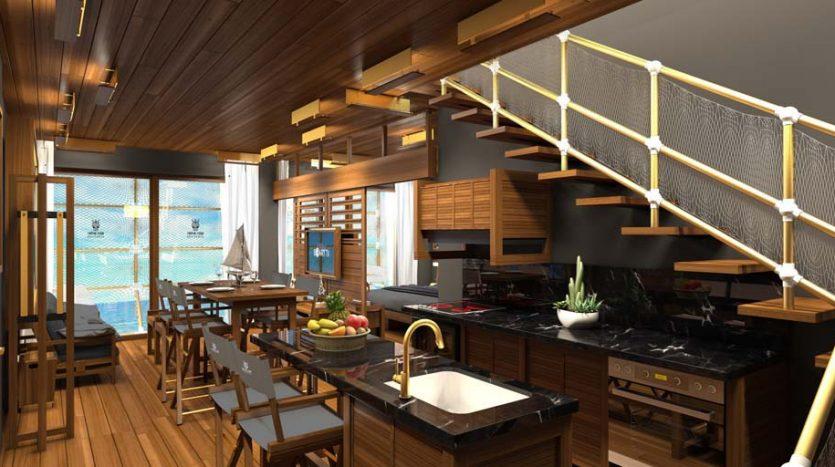 la residencia 1 bedroom condo playa del carmen 3 835x467 - La Residencia 1 Bedroom Condo