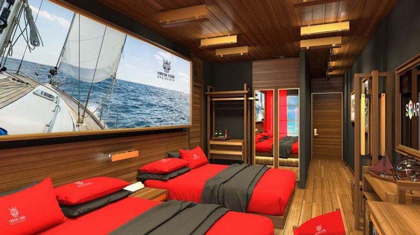 la residencia 1 bedroom condo playa del carmen 4 835x467 - La Residencia 1 Bedroom Condo