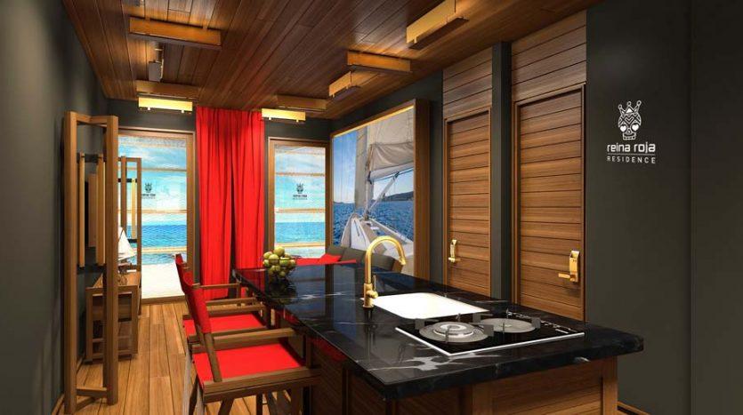 la residencia 1 bedroom condo playa del carmen 6 835x467 - La Residencia 1 Bedroom Condo