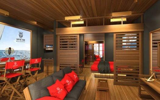 la residencia 2 bedroom condo playa del carmen 13 525x328 - La Residencia 2 Bedroom Condo