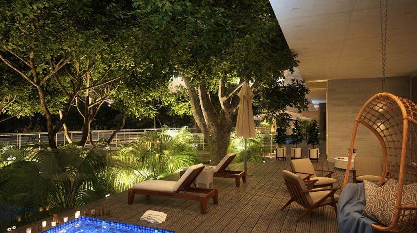 mara playacar phase 2 playa del carmen 3 bedroom condo 12 835x467 - Mara Residences 3 Bed Condo
