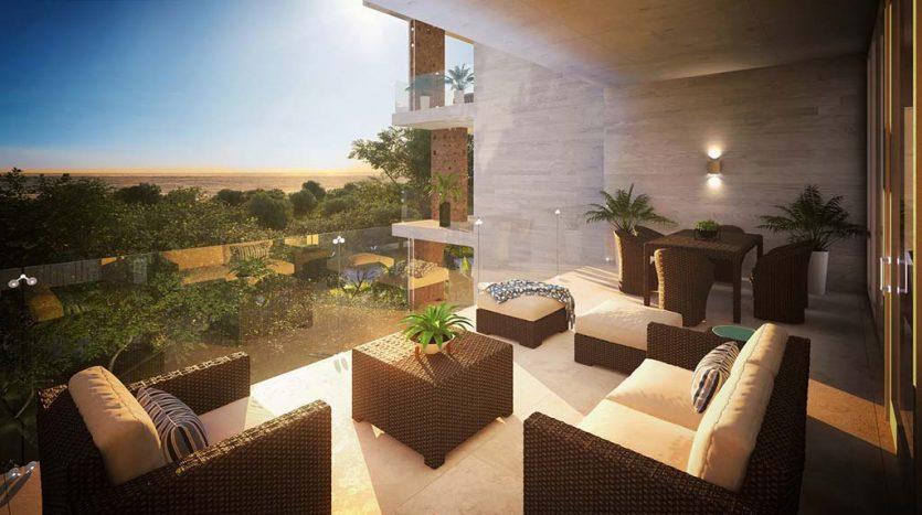 mara playacar phase 2 playa del carmen 3 bedroom condo 13 835x467 - Mara Residences 3 Bed Condo