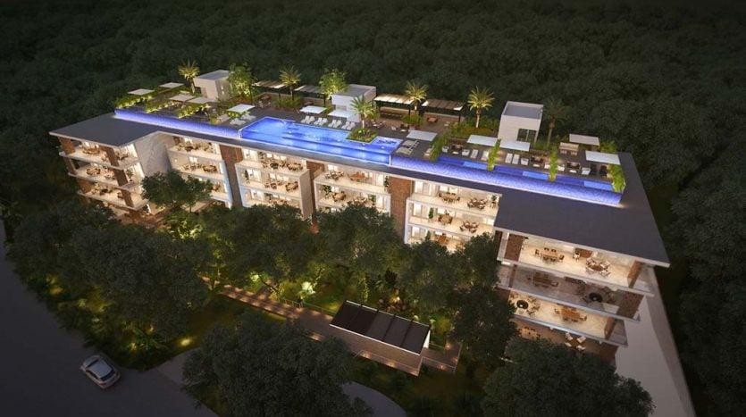mara playacar phase 2 playa del carmen 3 bedroom condo 14 835x467 - Mara Residences 3 Bed Condo