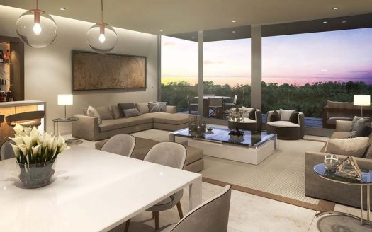 mara playacar phase 2 playa del carmen 3 bedroom condo 7 525x328 - Mara Residences 3 Bed Condo