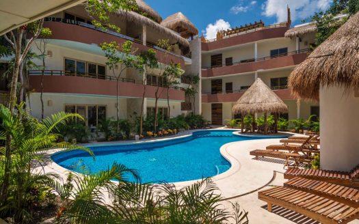 puerta zama tulum 2 bedroom penthouse 10 525x328 - Puerta Zama 2 Bedroom Penthouse