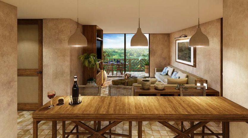 santomar tulum 1 bedroom condo 11 835x467 - Santomar 1 Bedroom Condo