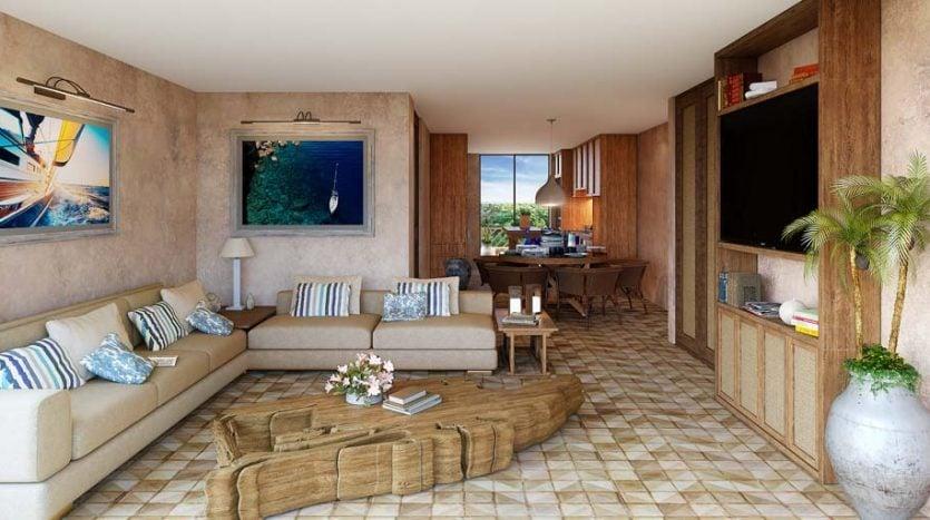 santomar tulum 2 bedroom condo 10 835x467 - Santomar 2 Bedroom Condo