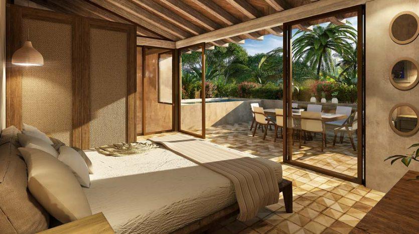 santomar tulum 2 bedroom condo 8 835x467 - Santomar 2 Bedroom Condo