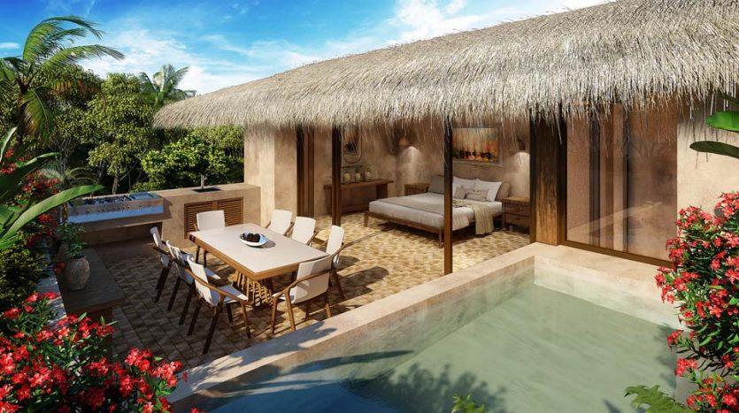santomar tulum 2 bedroom condo 9 835x467 - Santomar 2 Bedroom Condo