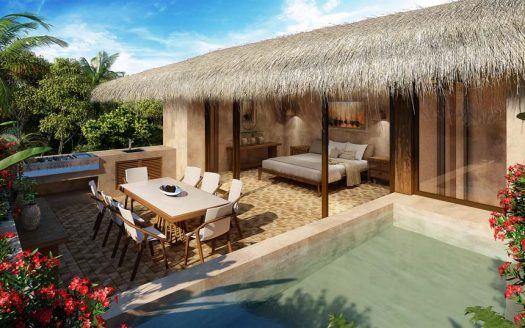 santomar tulum 3 bedroom penthouse 9 525x328 - Santomar 3 Bedroom Penthouse