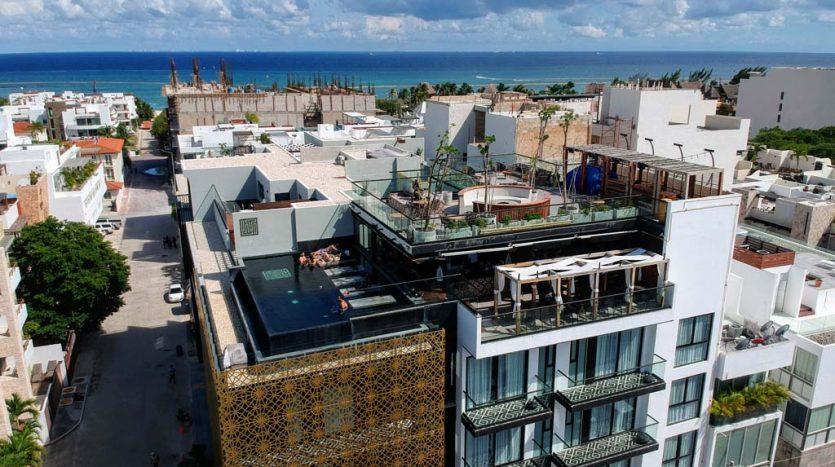 IT hotel 304 playa del carmen 2 bedroom condo 01 835x467 - IT Hotel 2 Bedroom Condo