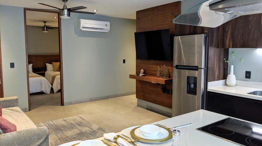 IT hotel 304 playa del carmen 2 bedroom condo 09 835x467 - IT Hotel 2 Bedroom Condo