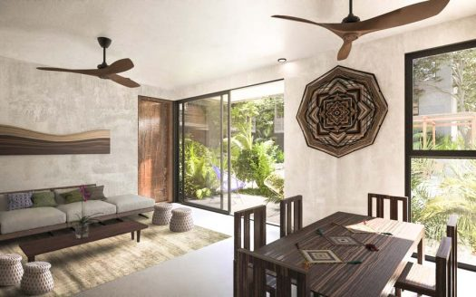 sukha tulum 2 bedroom condo 5 525x328 - Sukha 2 Bedroom Penthouse