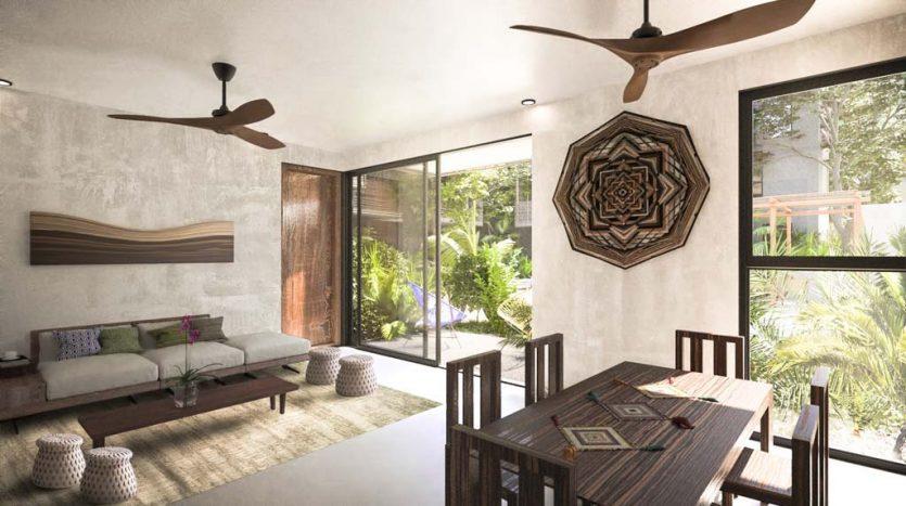 sukha tulum 2 bedroom condo 5 835x467 - Sukha 2 Bedroom Penthouse