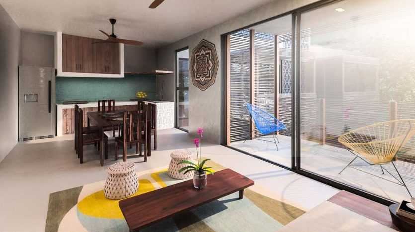 sukha tulum 2 bedroom condo 6 835x467 - Sukha 2 Bedroom Penthouse