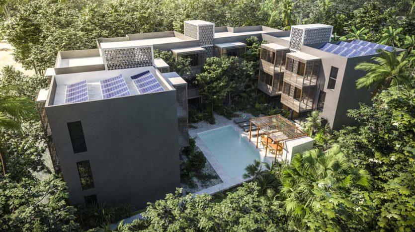 sukha tulum 2 bedroom condo 8 835x467 - Sukha 2 Bedroom Penthouse