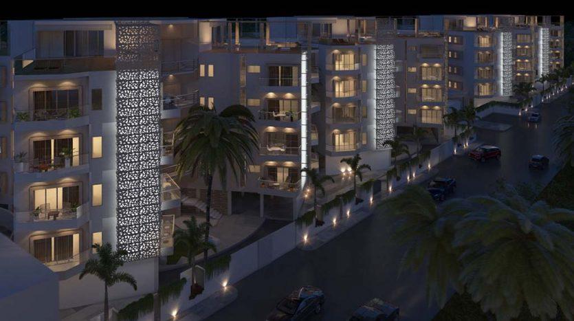starlight towers playa del carmen 2 bedroom penthouse 1 835x467 - Starlight Towers 2 Bedroom Penthouse