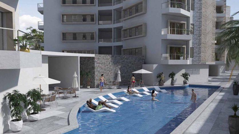 starlight towers playa del carmen 2 bedroom penthouse 2 835x467 - Starlight Towers 2 Bedroom Penthouse