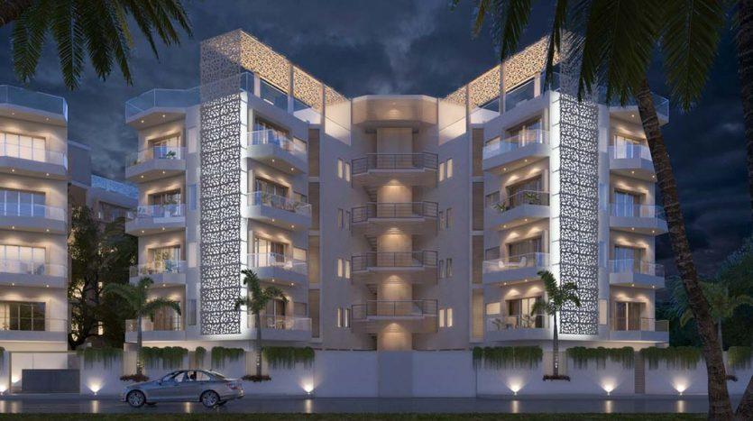 starlight towers playa del carmen 2 bedroom penthouse 7 835x467 - Starlight Towers 2 Bedroom Penthouse