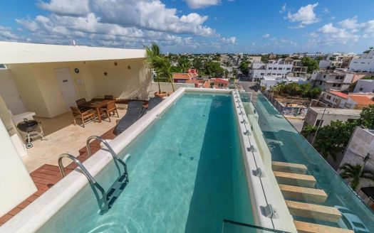 bamboo luxury playa del carmen 1 bed condo 001 525x328 - Bamboo Luxury 1 Bedroom Condo