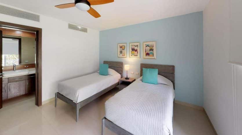 mareazul playa del carmen 2 bedroom condo 16 835x467 - Mareazul 2 Bed Condo