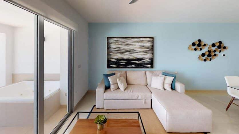 mareazul playa del carmen 2 bedroom condo 20 835x467 - Mareazul 2 Bed Condo