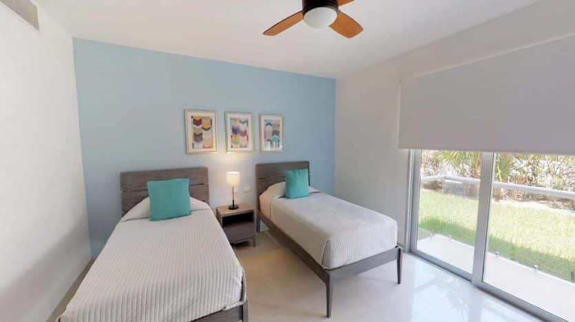 mareazul playa del carmen 2 bedroom condo 3 835x467 - Mareazul 2 Bed Condo