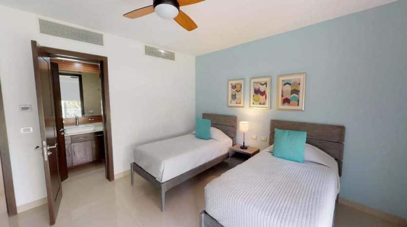 mareazul playa del carmen 2 bedroom condo 4 835x467 - Mareazul 2 Bed Condo