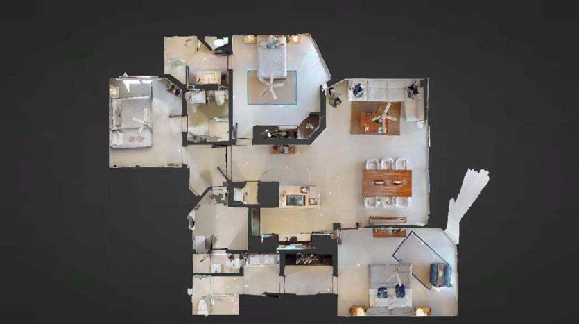 mareazul playa del carmen 3 bedroom condo 16 835x467 - Mareazul 3 Bed Condo