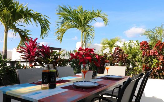 peregrina 3 bedroom penthouse playa del carmen 13 525x328 - Peregrina 3 Bedroom Penthouse