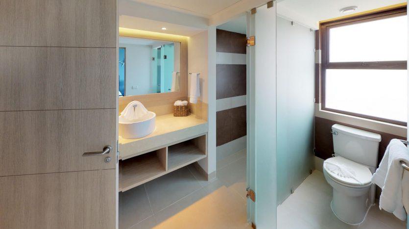 Lorena Ochoa Show Room Bathroom2 835x467 - Lorena Ochoa 2 Bedroom Condo