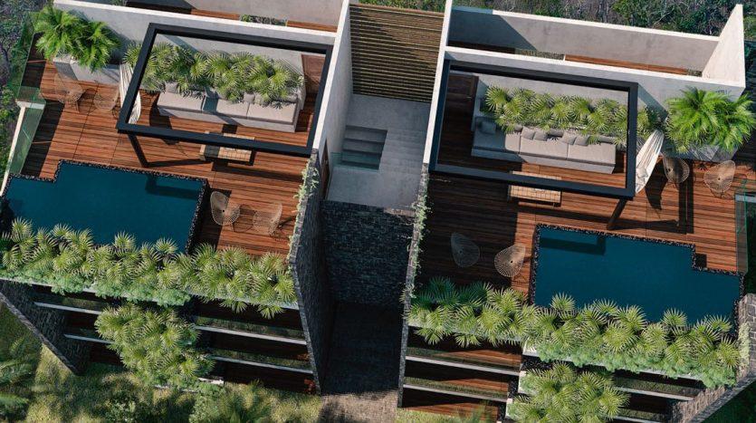 xik condos region 15 tulum 4 835x467 - Xik 1 Bedroom Condo