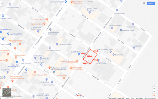 gooogle map highlite 525x328 - 5th Avenue Mixed Use Lot