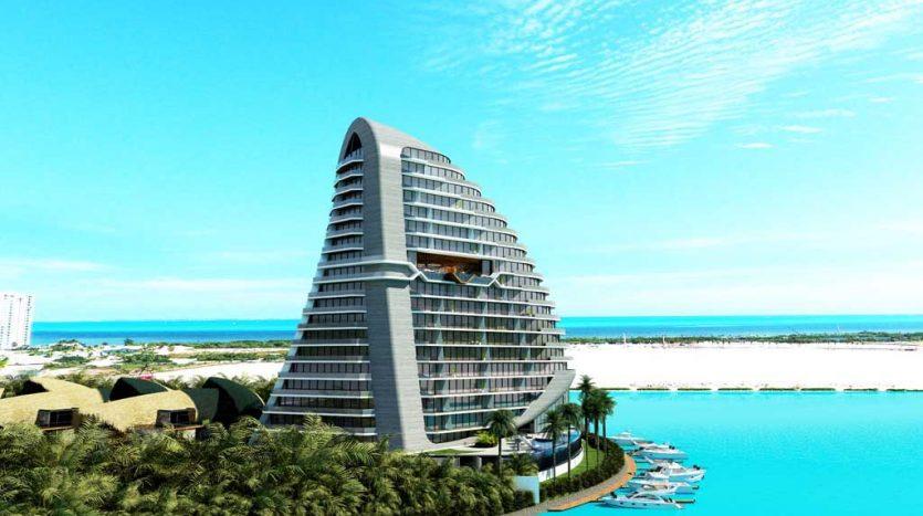 Shark Tower 2 Bedroom Condo