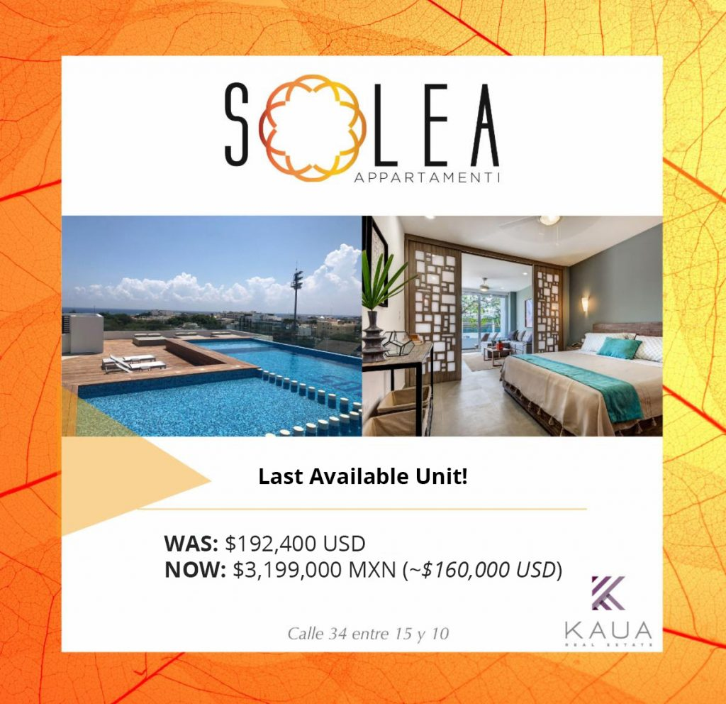 💰 Save Big at Solea 🌞 Last Remaining 1-Bedroom Condo only 0,000 USD