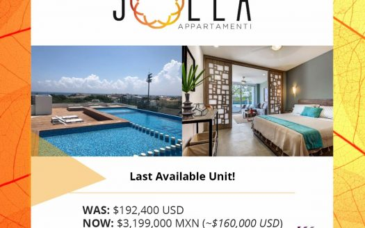💰 Save Big at Solea 🌞 Last Remaining 1-Bedroom Condo only $160,000 USD